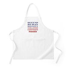 Defend Human Dignity Apron