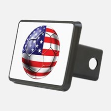 USA Soccer Ball Hitch Cover