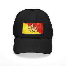 Sicily Flag Baseball Hat