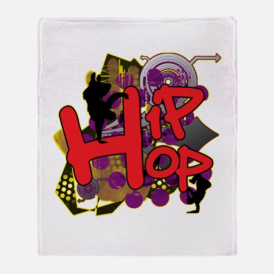 HIP HOP YO! Throw Blanket