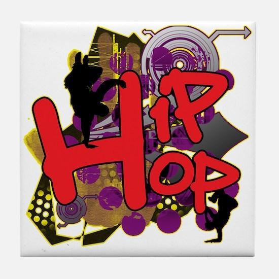 HIP HOP YO! Tile Coaster