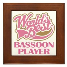 Bassoon Player (Best) Framed Tile