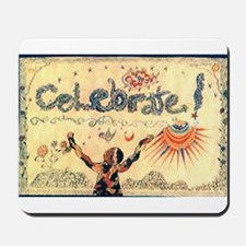 Celebrate! Mousepad