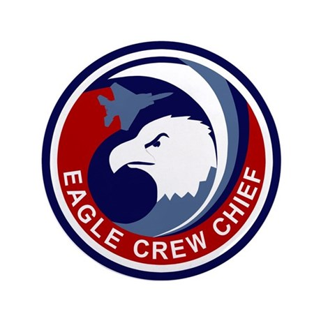 """F-15 Eagle 3.5"""" Button (100 pack)"""