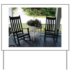 ROCKING CHAIRS™ Yard Sign
