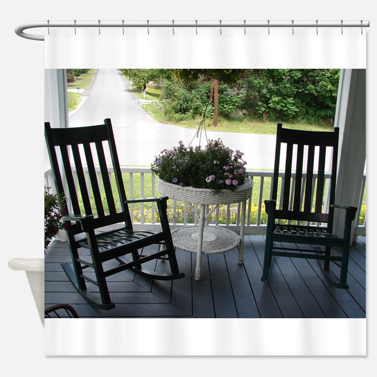 ROCKING CHAIRS™ Shower Curtain