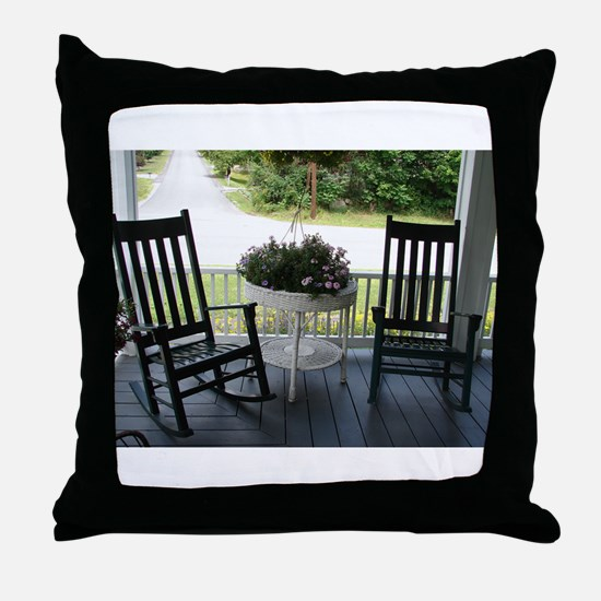 ROCKING CHAIRS™ Throw Pillow