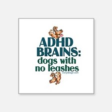 "Cool Adhd Square Sticker 3"" x 3"""