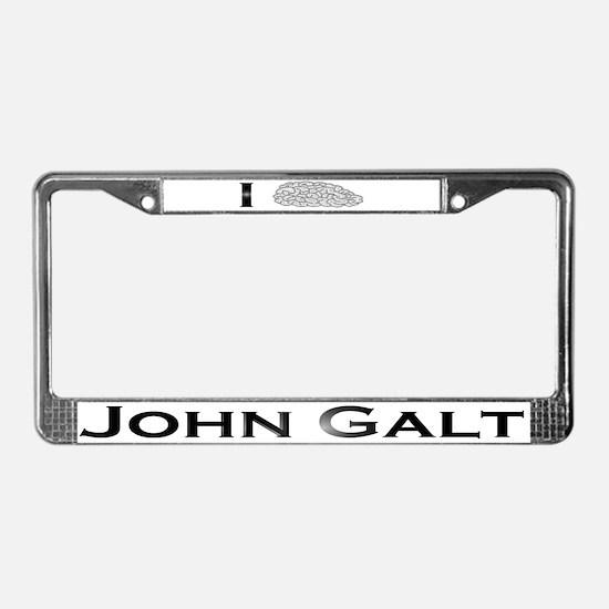 I Know John Galt License Plate Frame