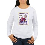 white whale Women's Long Sleeve T-Shirt