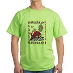 white whale Green T-Shirt
