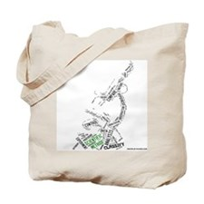 Scientific Method Microscope Tote Bag