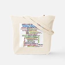 Scientific Method Microscope Tote Bag