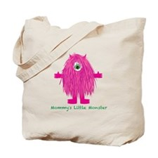 Mommys Little Pink Monster Tote Bag
