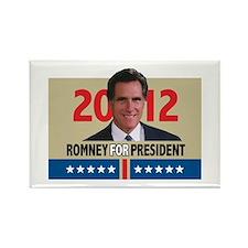 Mitt Romney 2012 Rectangle Magnet