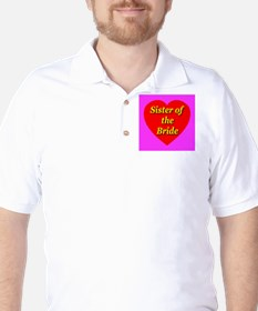 Sister of the Bride Golf Shirt