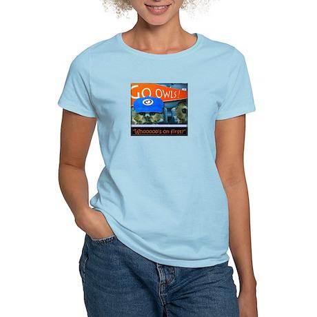 Whos on first Women's Light T-Shirt