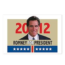Mitt Romney 2012 Postcards (Package of 8)