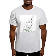 Scientific Method Microscope T-Shirt