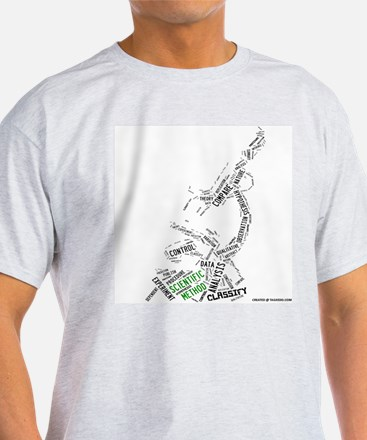Scientific Method Microscope T-Shirt