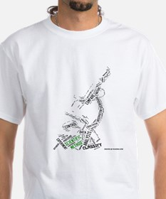 Scientific Method Microscope Shirt