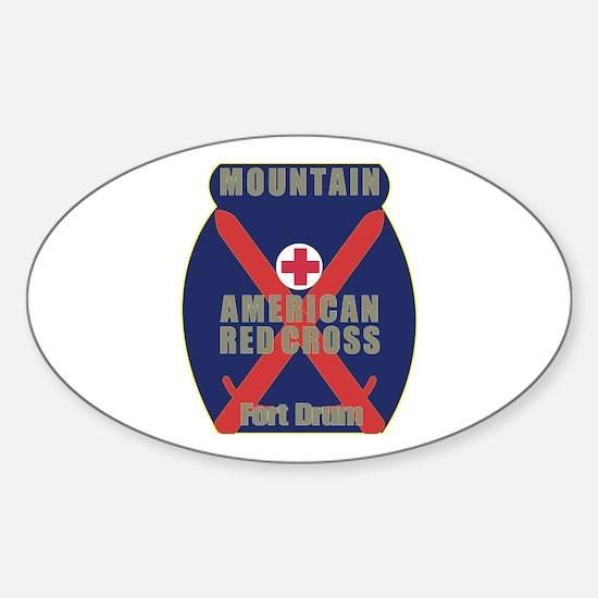 American Red Cross (ARC) Sticker (Oval)
