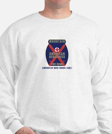 American Red Cross (ARC) with Text Sweatshirt