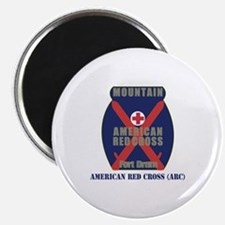 American Red Cross (ARC) with Text Magnet