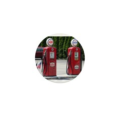 OLD GLORY GAS PUMPS™ Mini Button