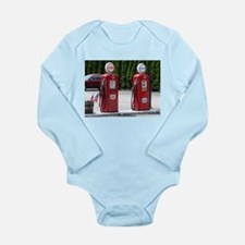 OLD GLORY GAS PUMPS™ Long Sleeve Infant Bodysuit