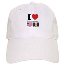USA-BARBADOS Baseball Cap
