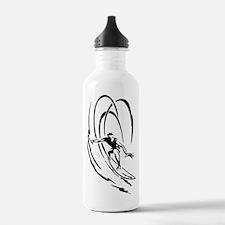 Cool Surfer Art Water Bottle