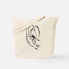Cool Surfer Art Tote Bag