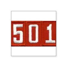 "Pack 501 Patch Square Sticker 3"" x 3"""