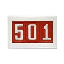 Pack 501 Patch Rectangle Magnet