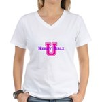NGZ U Women's V-Neck T-Shirt