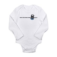 Cute Swing Long Sleeve Infant Bodysuit