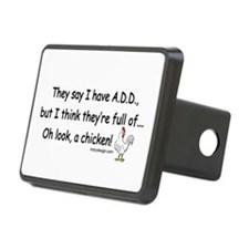 ADD full of Chicken Humor Hitch Cover