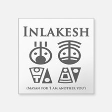 "Inlakesh Square Sticker 3"" x 3"""