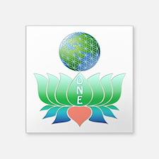 """Oneness Square Sticker 3"""" x 3"""""""