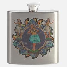 Heavenly Hulas Flask