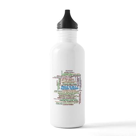 Proud History Teacher Stainless Water Bottle 1.0L