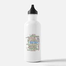 Proud History Teacher Water Bottle