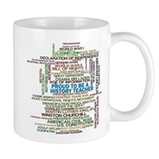 Proud History Teacher Mug