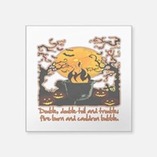 "Cauldron Square Sticker 3"" x 3"""