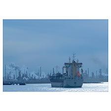 Industrial ship at a port, Port Of Houston, La Por