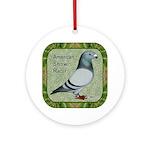 Show Racer Portrait Ornament (Round)