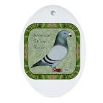 Show Racer Portrait Ornament (Oval)
