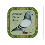 Show Racer Portrait Small Poster