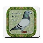 Show Racer Portrait Mousepad